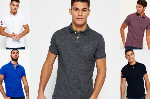 Superdry Herren Poloshirts   verschiedene Modelle für 18,95€