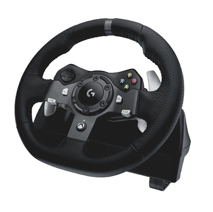 Logitech Driving Force Rennlenkrad + F1 2017 für 222€   für PC, PS4 und XONE!