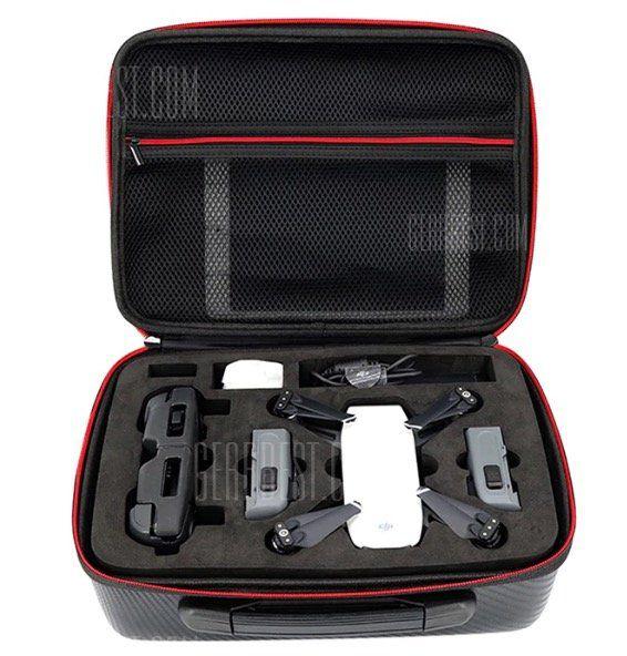 Wasserfester DJI Spark Koffer im Carbon Stil für 13,62€ (statt 18€)