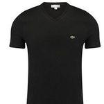 Lacoste Herren T-Shirt mit V-Neck für 31,87€ (statt 44€)