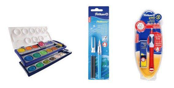 Pelikan und Herlitz Back to School Sale   z.B. Pelikan Griffix 2 Bleistift ab 4€ (statt 9€)