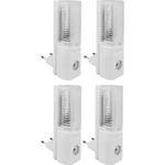 4er Set YL-260E LED-Nachtlicht mit Dämmerungssensor für 9,99€