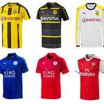 Puma Fußball Trikots vom BVB, Arsenal und Co. für je 19,99€