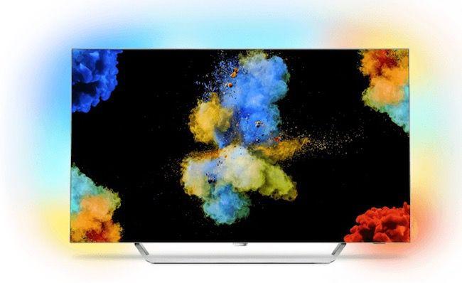 Philips 55POS9002   55 Zoll 4K OLED Fernseher mit Android und 3 seitigem Ambilight für 2.105€ + MediaMarkt 500€ Gutschein (statt 2.029€)