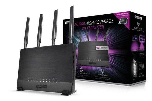 Sitecom WLR 9000 Hochleistungsrouter mit 10 Jahren Garantie für 75,90€ (statt 132€)