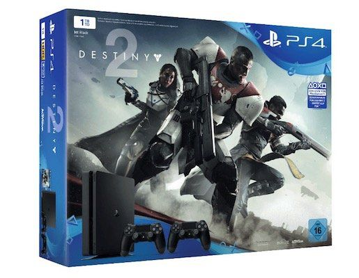 Playstation 4 slim mit 1TB + 2. Controller + Destiny 2 + Thats You ab 299€ (statt 362€)