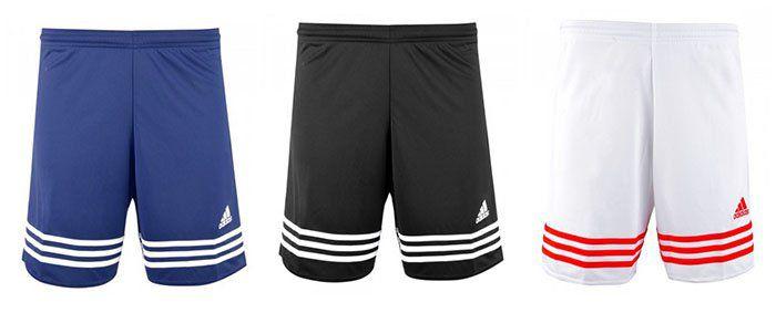 adidas Herren Sportshorts Entrada in mehreren Farben für je 10€ (statt 15€)