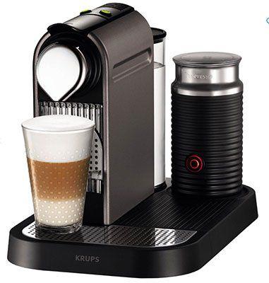 Krups XN 730T Nespresso New Citiz und Milk Kapselmaschine für 129,99€ (statt 175€)