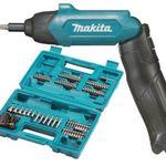 Makita DF001DW Akku-Knickschrauber 3,6V + 81-tlg. Zubehör für 49,90€ (statt 67€)
