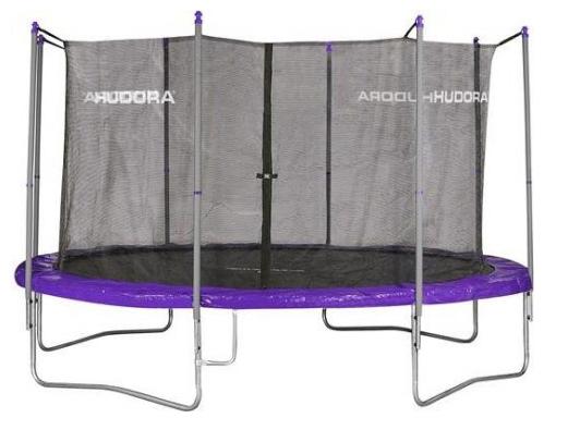 Hudora Fitness Trampolin 400 mit Sicherheitsnetz für 167€ inkl. Versand statt 200€