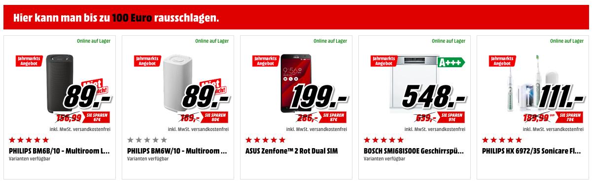Knaller! Media Markt Preisjahrmarkt   bis  200€ auf Kopfhörer, Speicherkarten, Festplatten, Kaffeemaschinen, TVs, Handys ...uvm.