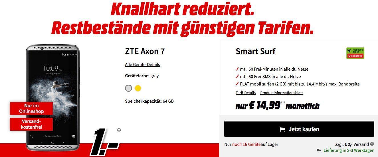 Tipp! Restbestände an Handytarifen + div. Bundles z.B Samsung Galaxy S7 + Galaxy Tab A 10.1 für 1€ + Vodafone Allnet 24,99€/Monat