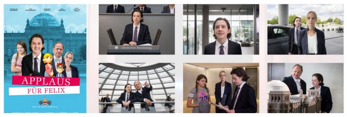 Kostenlos: Applaus für Felix Ein Tag im Bundestag als DVD