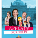 Kostenlos: Applaus für Felix-Ein Tag im Bundestag als DVD