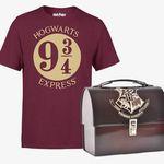 Harry Potter T-Shirt mit Harry Potter Metalkoffer (Lunchbox) für 13,98€ (statt 33€)