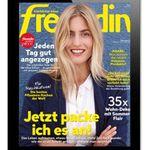 26 Ausgaben freundin E-Paper komplett gratis (statt 48€)