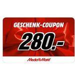 o2 Free M Allnet-Flat mit 10GB LTE für 29,99€ mtl. + 280€ Media Markt Gutschein