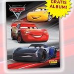 Gratis Panini Cars 3 Stickeralbum + 6 Sticker bestellen