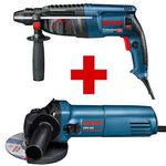 Bosch Professional Set – Bohrhammer GBH 2-26 DRE & Winkelschleifer GWS 660 für 142,48€ (statt 215€)