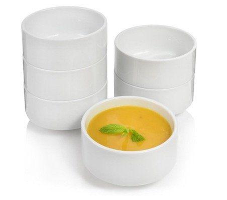 Suppenschüssel Set aus Porzellan 6 teilig für 9,99€ (statt 19€)