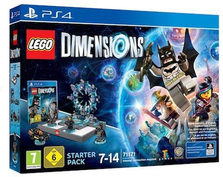 Lego Dimensions: Starter Pack (PS4) für 31,98€ (statt 50€) + gratis Supergirl Figur