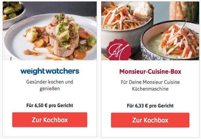 20€ Rabatt auf alle LIDL Kochboxen für Neukunden