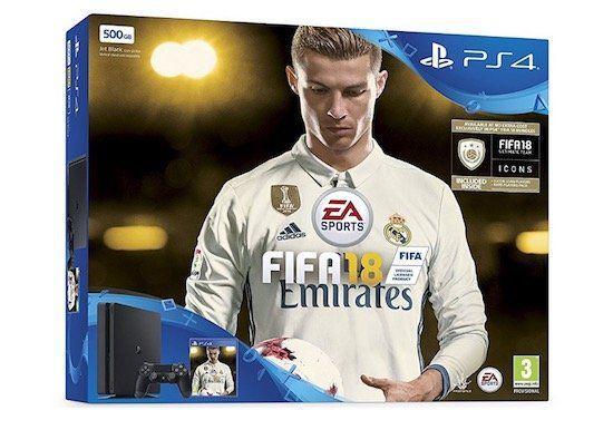 Playstation 4 slim 500GB + Fifa 18 für 231€ (statt 275€)