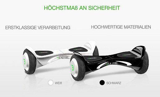 Beamie Hoverboard bis zu 20km Reichweite für 309€ (statt 548€)