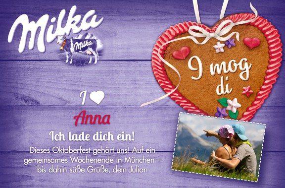Milka Pralinen mit personalisierter Verpackung für 7,19€ (statt 9€)