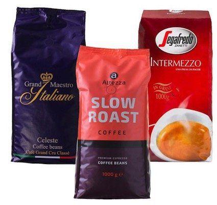 3kg Best Beans Kaffeebohnen Probierpaket für 29,99€ + gratis Kaffee Clip