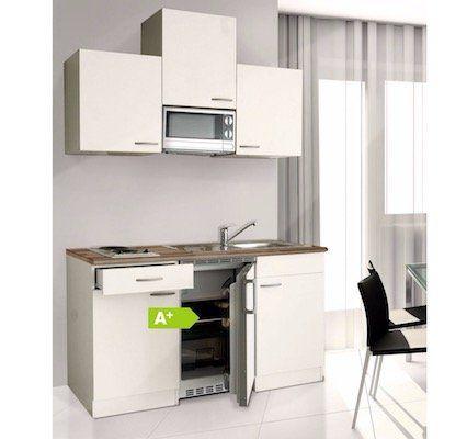Kleine Respekta Küchenzeile mit Kochmulde für 444,99€ (statt 484€)