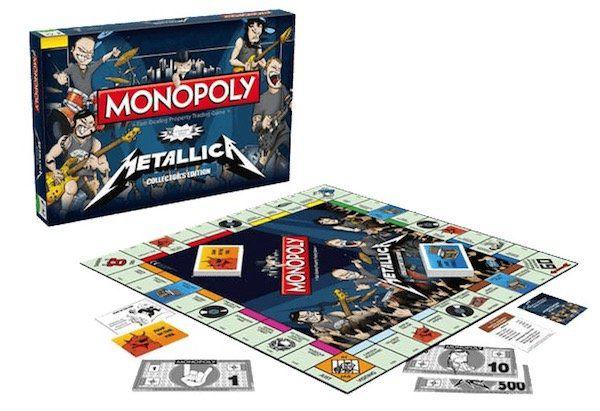 Metallica Monopoly Brettspiel für 39,99€ (statt 50€)