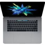 Macbook Pro (2017) – 15 Zoll mit Touchbar (i7, 16GB, 256GB) für 2.199€ (statt 2.355€)