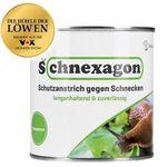 Schnexagon – ökologischer Schneckenzaun und Schutzanstrich für 21,99€