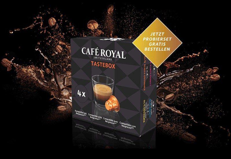 GRATIS Café Royal Probierbox: 4 Nespresso kompatible Kapseln über Facebook Aktion