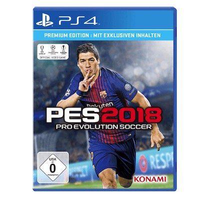 PES   Pro Evolution Soccer 2018 (PS4) für 31,98€ (statt 40€)