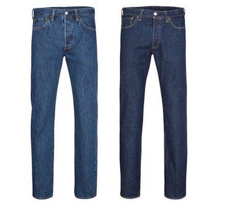 Levis 501 Original Fit Herren Jeans für je 57,99€ (statt 80€)