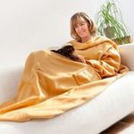 2er Pack Decke mit Ärmeln und Taschen für 14,99€