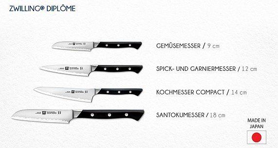 Verschiedene Zwilling Diplome Messer im Angebot bei vente privee