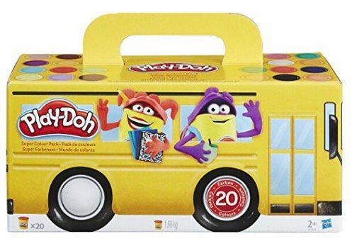 Hasbro Play Doh Super Farbenset mit 20 Farben ab 9,99€ (statt 18€)