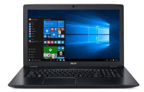 Acer Aspire E 17 E5 774G   17,3 Zoll Full HD Notebook mit 256GB + 1TB + Win 10 für 747€ (statt 883€)