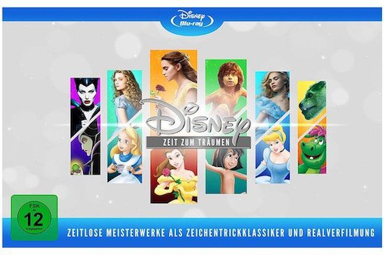 Disneys zeitlose Meisterwerke auf Blu ray für 66,99€ (statt 76€)