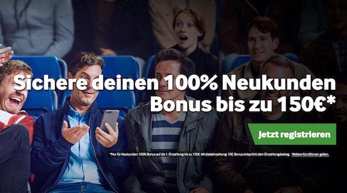 100% Einzahlbonus für betway Neukunden bis maximal 150€