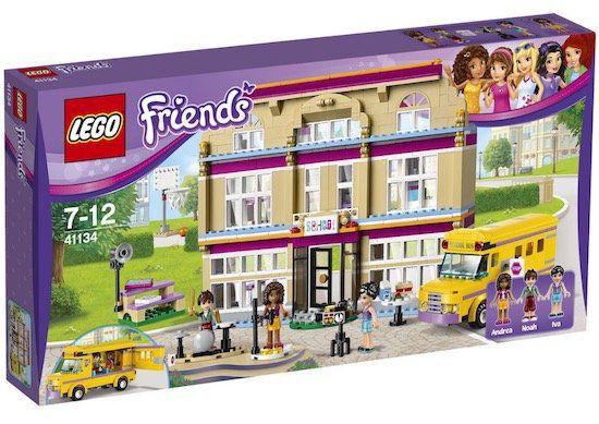 Lego Friends   Heartlake Kunstschule (41134) für 44,95€ (statt 70€)