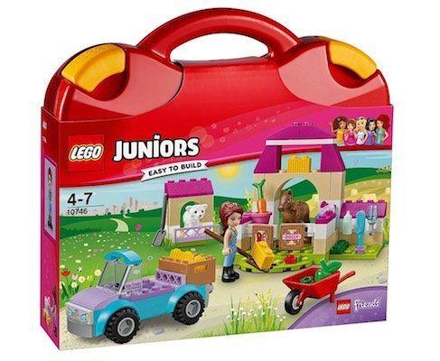 Lego Juniors   Mias Pferdestall Koffer (10746) für 10€ (statt 15€)