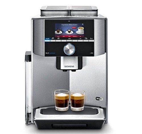 Siemens TI909701HC (EQ.9 s900) Kaffee Vollautomat mit App Steuerung für 1.549,99€ (statt 1.765€)