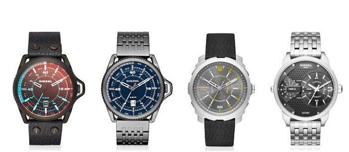Günstige Diesel Uhren für Sie und Ihn bei vente privee   z.B. Diesel Rollcage für 89,90€ (statt 119€)