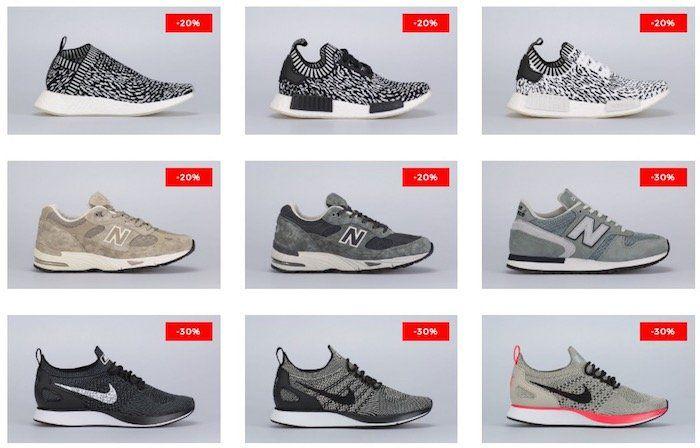 Tint Sale + 25% Extra Rabatt   z.B. Nike Sock Dart QS in Rot für 53,73€ (statt 91€)