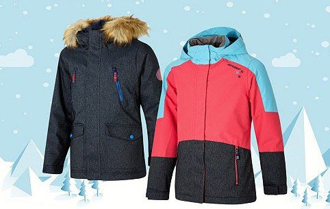 Ziener Jacken und Parkas für Kinder bei vente privee