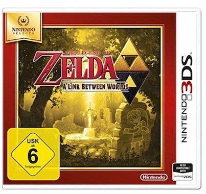 The Legend of Zelda: A Link Between Worlds (3DS) für 11,76€ (statt 17€)